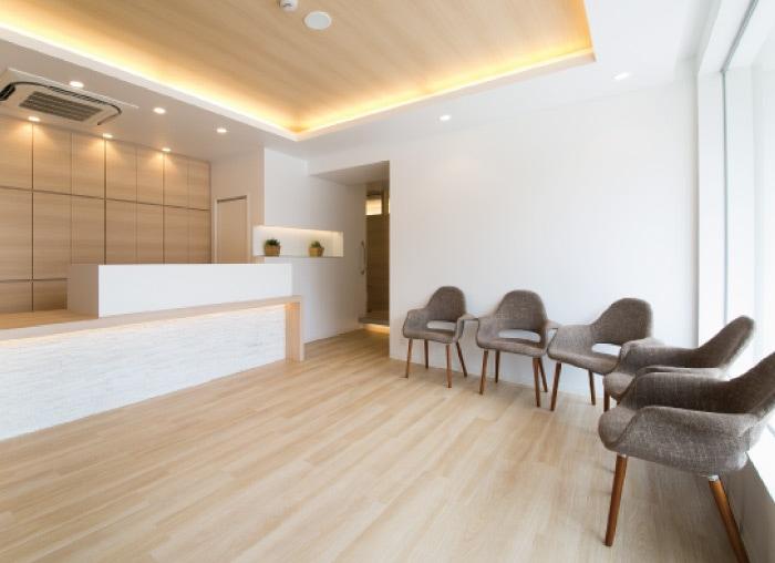 てらだ歯科クリニックの待合室